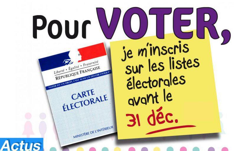 """Résultat de recherche d'images pour """"inscription sur les listes électorales"""""""